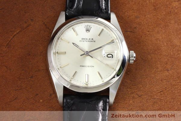 Used luxury watch Rolex Precision steel manual winding Kal. 1225 Ref. 6694  | 141332 14