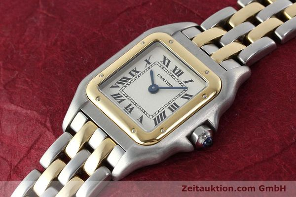 Used luxury watch Cartier Panthere steel / gold quartz Kal. 157  | 141333 01