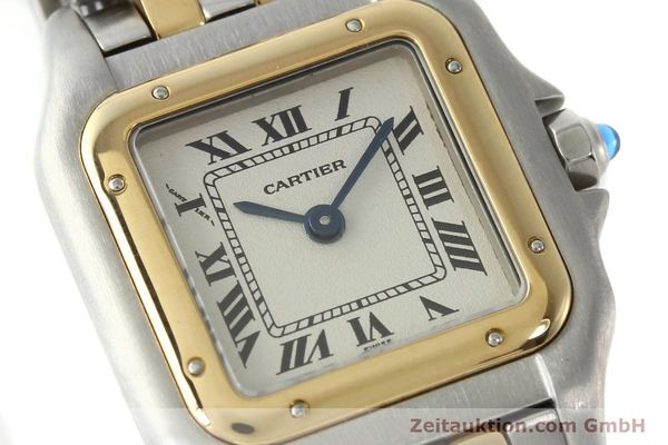 Used luxury watch Cartier Panthere steel / gold quartz Kal. 157  | 141333 02