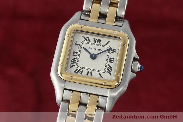 Used luxury watch Cartier Panthere steel / gold quartz Kal. 157  | 141333 04