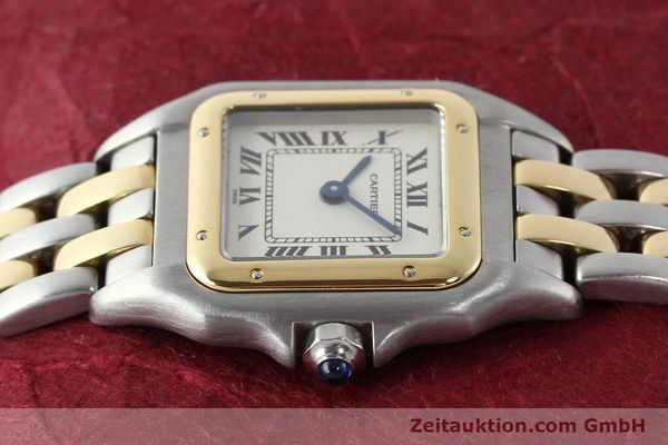Used luxury watch Cartier Panthere steel / gold quartz Kal. 157  | 141333 05