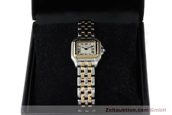 Used luxury watch Cartier Panthere steel / gold quartz Kal. 157  | 141333 07