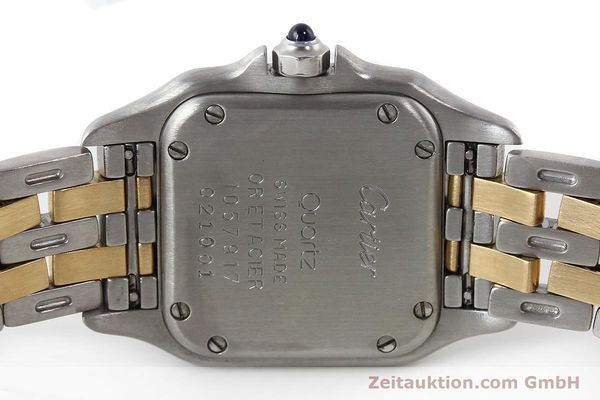 Used luxury watch Cartier Panthere steel / gold quartz Kal. 157  | 141333 10