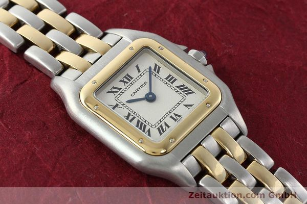 Used luxury watch Cartier Panthere steel / gold quartz Kal. 157  | 141333 14