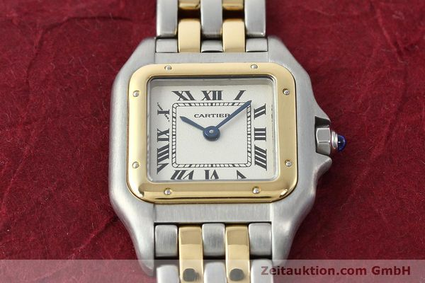Used luxury watch Cartier Panthere steel / gold quartz Kal. 157  | 141333 15