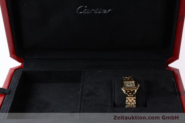 gebrauchte Luxusuhr Cartier Panthere 18k Gold Quarz Kal. 057  | 141334 07
