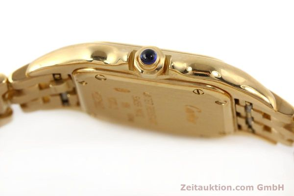 gebrauchte Luxusuhr Cartier Panthere 18k Gold Quarz Kal. 057  | 141334 10