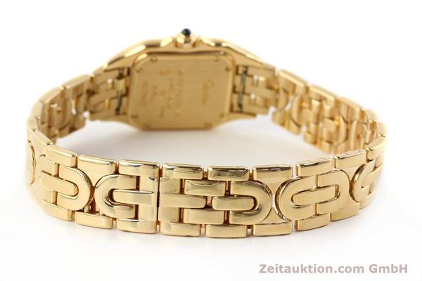 gebrauchte Luxusuhr Cartier Panthere 18k Gold Quarz Kal. 057  | 141334 11