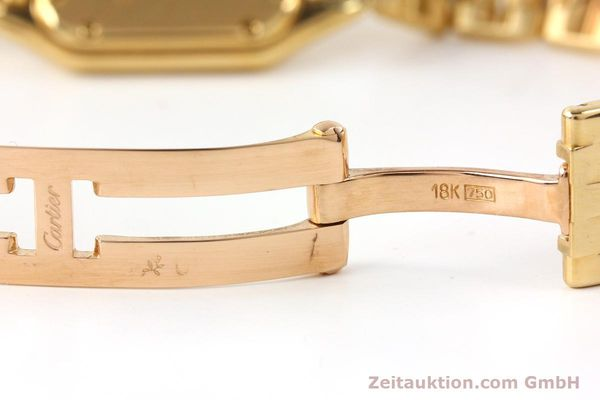 gebrauchte Luxusuhr Cartier Panthere 18k Gold Quarz Kal. 057  | 141334 12