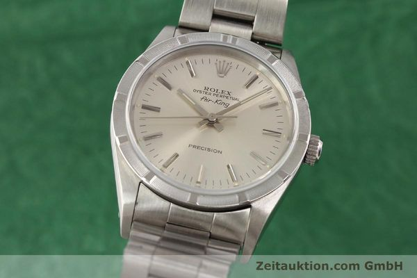Used luxury watch Rolex Precision steel automatic Kal. 3000 Ref. 14010  | 141335 04