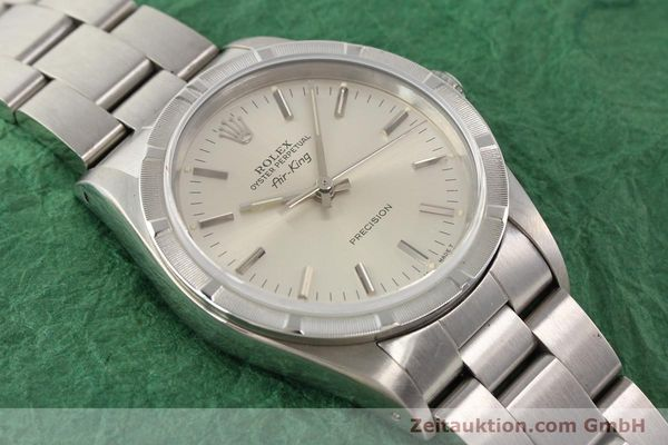 Used luxury watch Rolex Precision steel automatic Kal. 3000 Ref. 14010  | 141335 16