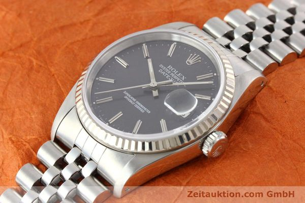montre de luxe d occasion Rolex Datejust acier / or  automatique Kal. 3135 Ref. 16234  | 141337 01