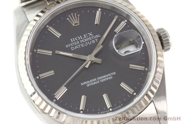 Used luxury watch Rolex Datejust steel / gold automatic Kal. 3135 Ref. 16234  | 141337 02