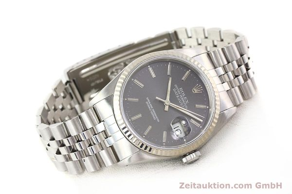 Used luxury watch Rolex Datejust steel / gold automatic Kal. 3135 Ref. 16234  | 141337 03
