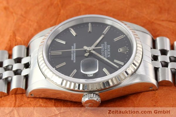 Used luxury watch Rolex Datejust steel / gold automatic Kal. 3135 Ref. 16234  | 141337 05