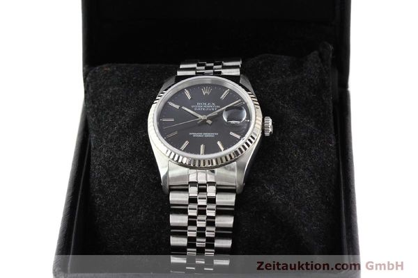 Used luxury watch Rolex Datejust steel / gold automatic Kal. 3135 Ref. 16234  | 141337 07