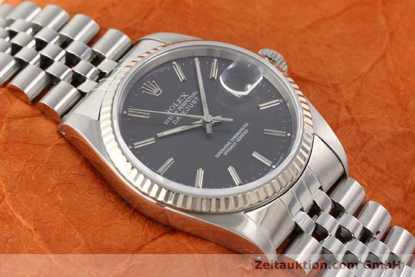 montre de luxe d occasion Rolex Datejust acier / or  automatique Kal. 3135 Ref. 16234  | 141337 16