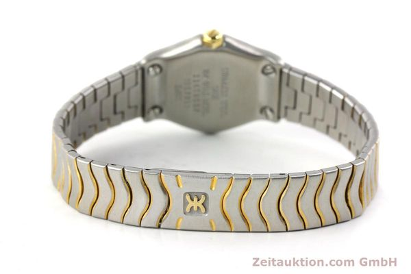 Used luxury watch Ebel Classic Wave steel / gold quartz Kal. 157 Ref. 1057901  | 141340 10