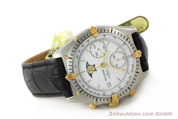 Used luxury watch Breitling Chronomat gilt steel automatic Kal. VAL 7758 Ref. 81.950  | 141342 03