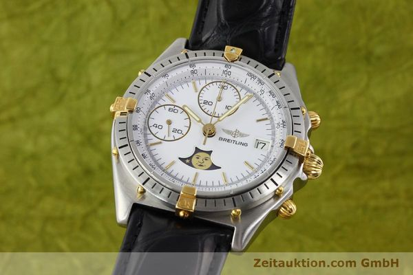 Used luxury watch Breitling Chronomat gilt steel automatic Kal. VAL 7758 Ref. 81.950  | 141342 04