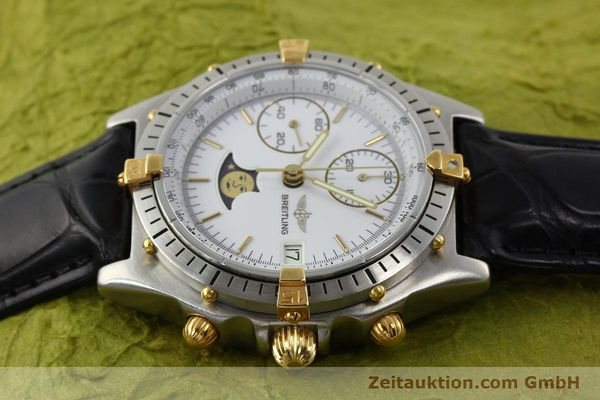 Used luxury watch Breitling Chronomat gilt steel automatic Kal. VAL 7758 Ref. 81.950  | 141342 05
