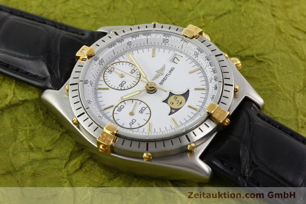 Used luxury watch Breitling Chronomat gilt steel automatic Kal. VAL 7758 Ref. 81.950  | 141342 12