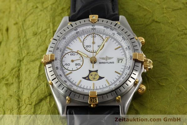 Used luxury watch Breitling Chronomat gilt steel automatic Kal. VAL 7758 Ref. 81.950  | 141342 13