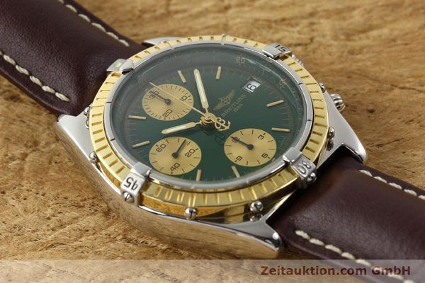 Used luxury watch Breitling Chronomat steel / gold automatic Kal. B13 ETA 7750 Ref. D13047  | 141344 14