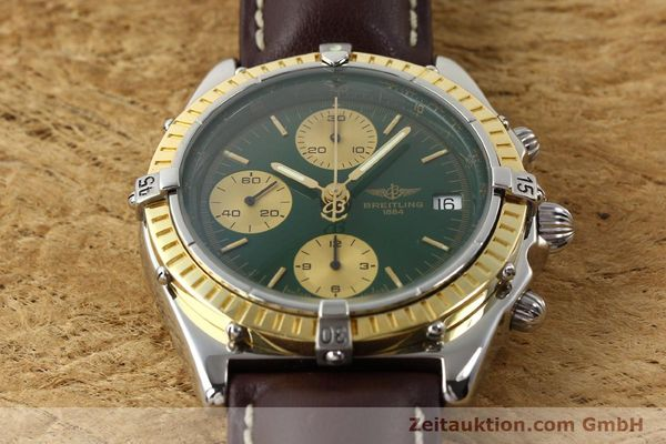 Used luxury watch Breitling Chronomat steel / gold automatic Kal. B13 ETA 7750 Ref. D13047  | 141344 15