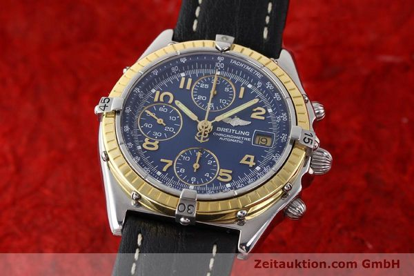 Used luxury watch Breitling Chronomat steel / gold automatic Kal. VAL 7750 Ref. 81950  | 141345 04