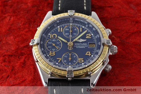 Used luxury watch Breitling Chronomat steel / gold automatic Kal. VAL 7750 Ref. 81950  | 141345 15
