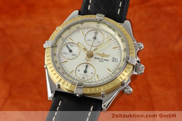 Used luxury watch Breitling Chronomat steel / gold automatic Kal. B13 ETA 7750 Ref. D13050  | 141346 04