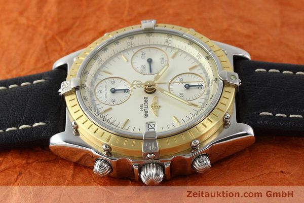 Used luxury watch Breitling Chronomat steel / gold automatic Kal. B13 ETA 7750 Ref. D13050  | 141346 05