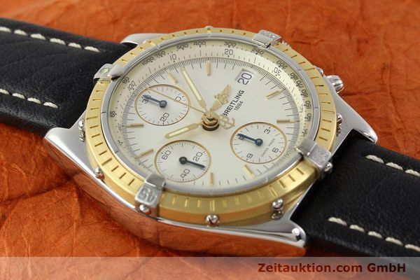 Used luxury watch Breitling Chronomat steel / gold automatic Kal. B13 ETA 7750 Ref. D13050  | 141346 12
