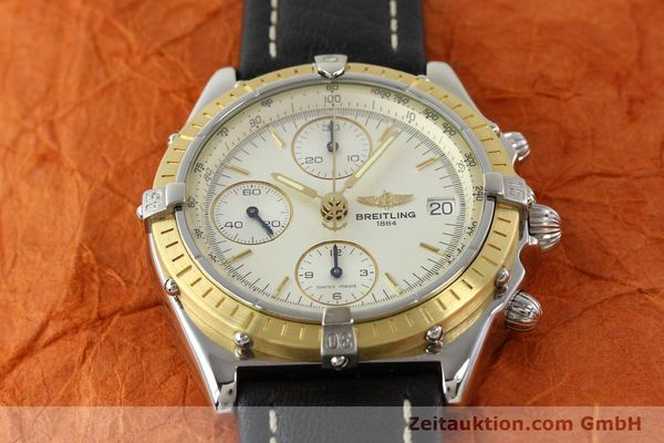 Used luxury watch Breitling Chronomat steel / gold automatic Kal. B13 ETA 7750 Ref. D13050  | 141346 13
