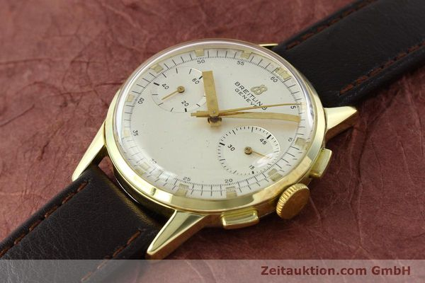 Used luxury watch Breitling Top Time gold-plated manual winding Kal. Venus 188 Ref. 1198  | 141347 01