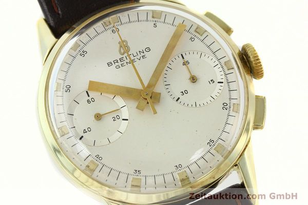Used luxury watch Breitling Top Time gold-plated manual winding Kal. Venus 188 Ref. 1198  | 141347 02