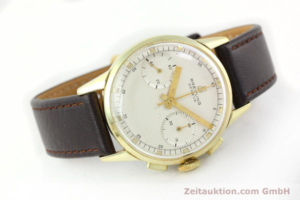 Used luxury watch Breitling Top Time gold-plated manual winding Kal. Venus 188 Ref. 1198  | 141347 03