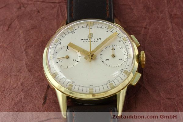 Used luxury watch Breitling Top Time gold-plated manual winding Kal. Venus 188 Ref. 1198  | 141347 14