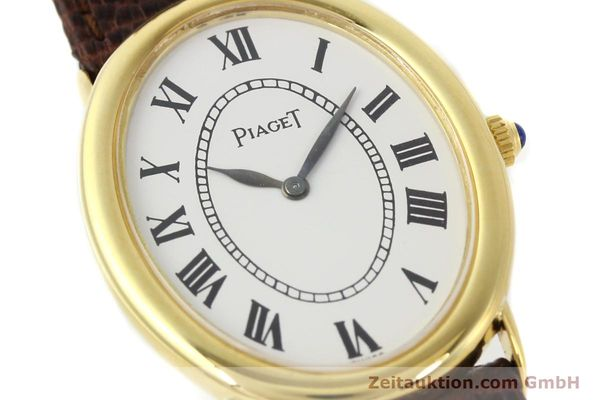 Used luxury watch Piaget * 18 ct gold manual winding Kal. 9P1 Ref. 9862  | 141348 02