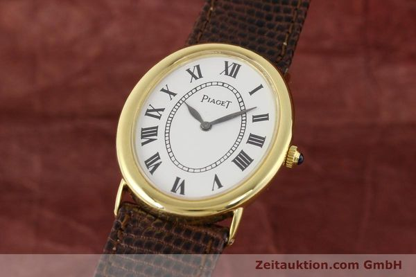 Used luxury watch Piaget * 18 ct gold manual winding Kal. 9P1 Ref. 9862  | 141348 04