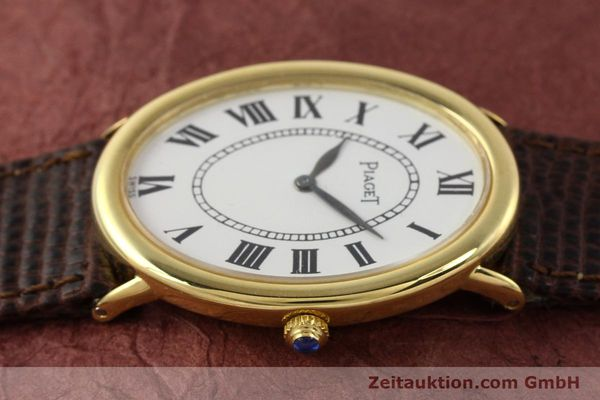 Used luxury watch Piaget * 18 ct gold manual winding Kal. 9P1 Ref. 9862  | 141348 05