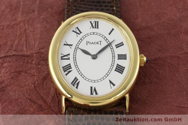 Used luxury watch Piaget * 18 ct gold manual winding Kal. 9P1 Ref. 9862  | 141348 15