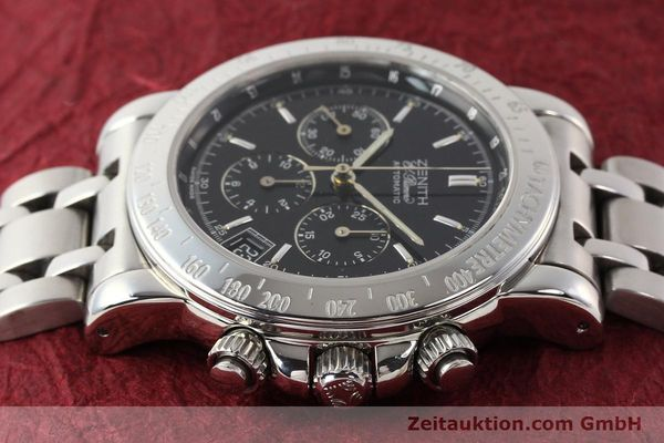 Used luxury watch Zenith Elprimero steel automatic Kal. 400Z Ref. 15/02-0460-400  | 141350 05