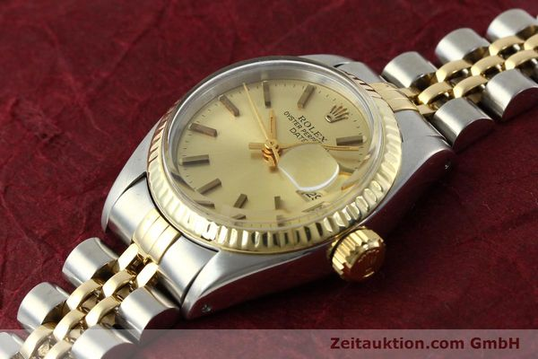 Used luxury watch Rolex Lady Date steel / gold automatic Kal. 2030 Ref. 6917  | 141351 01