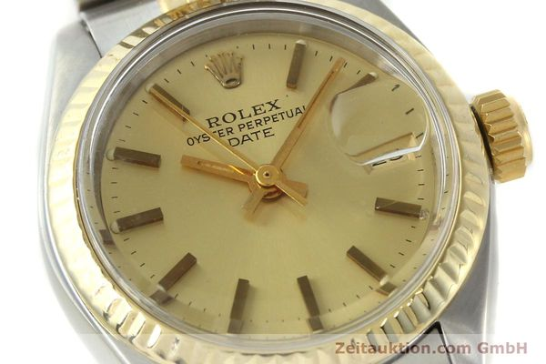 Used luxury watch Rolex Lady Date steel / gold automatic Kal. 2030 Ref. 6917  | 141351 02