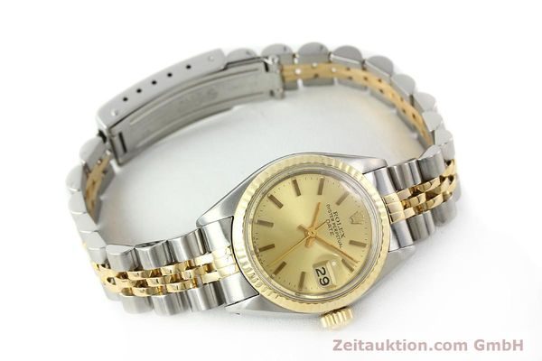 Used luxury watch Rolex Lady Date steel / gold automatic Kal. 2030 Ref. 6917  | 141351 03
