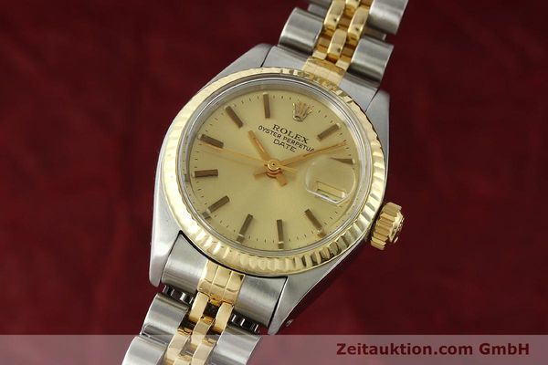 Used luxury watch Rolex Lady Date steel / gold automatic Kal. 2030 Ref. 6917  | 141351 04