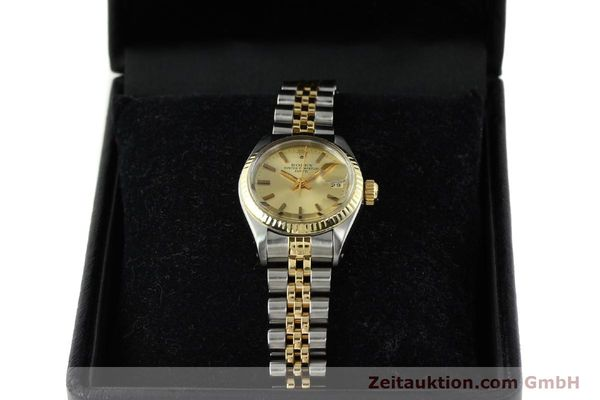 Used luxury watch Rolex Lady Date steel / gold automatic Kal. 2030 Ref. 6917  | 141351 07