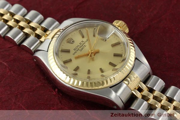 Used luxury watch Rolex Lady Date steel / gold automatic Kal. 2030 Ref. 6917  | 141351 15